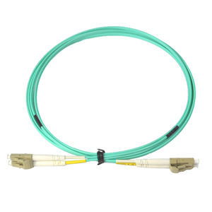 LC-LC Duplex Multimode Fiber Optic Patch Cord