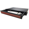 "19"" ODF Fiber Optic Joint Box, Sliding Fiber Optic Patch Panel 48 Port with FC Adapter"