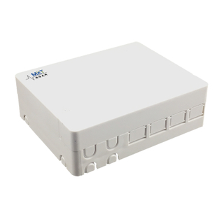 FTTH - 4 Port FTTH Fiber Optic Terminal Box with SC Shutter Adapter