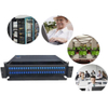 Slim 1U Fiber Optic Patch Panel 96 Cores Sliding Open SC Type For LAN / WAN