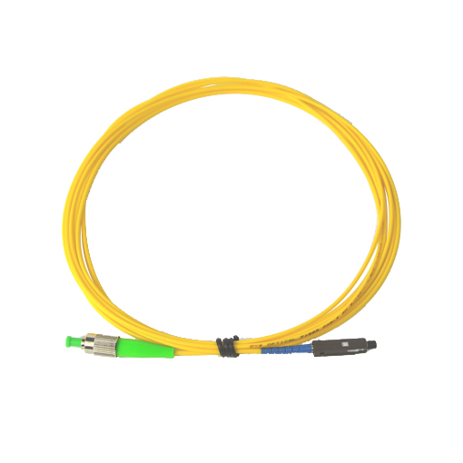 FC/APC-MU/APC Single Core Fiber Optic Patch Cord