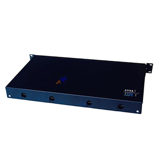 12 Port Fixed Type Fiber Optic Joint Box Loaded with 12pcs of SC Adaptor And Splice Tray